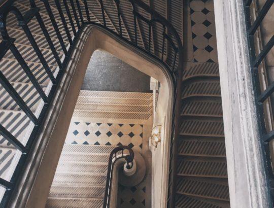В Sciences Po винтовые лестницы потрясающей красоты - Валерия Чикина